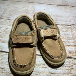 Toddler boys Sperry shoes size 7